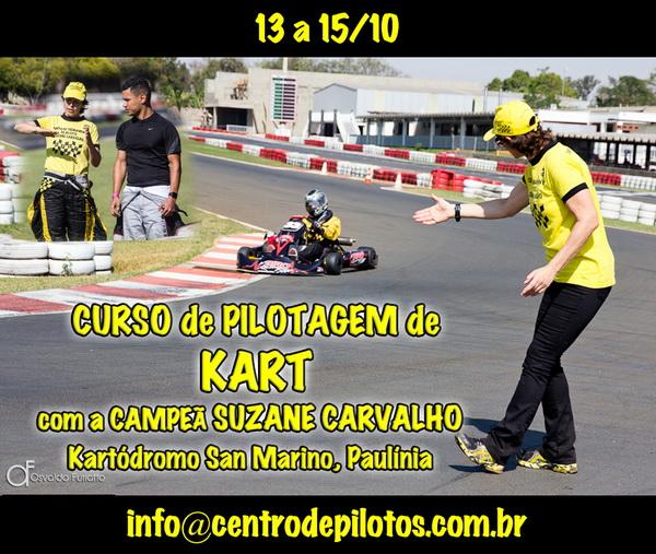 CURSO DE PILOTAGEM DE KART EM SÃO PAULO