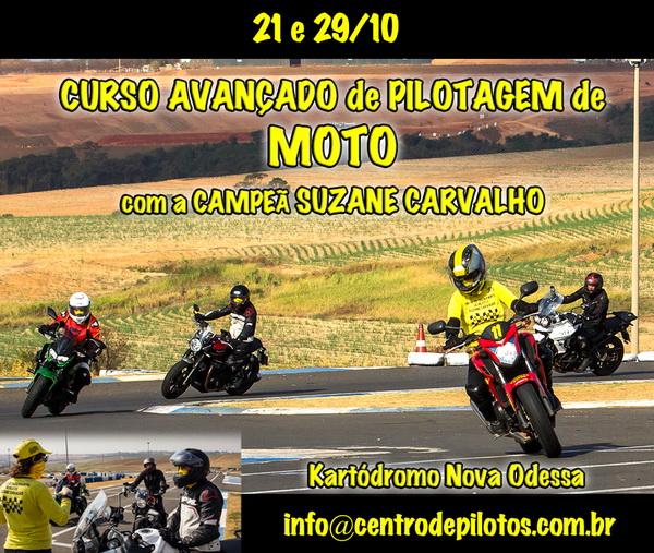 CURSO AVANÇADO DE PILOTAGEM DE MOTO