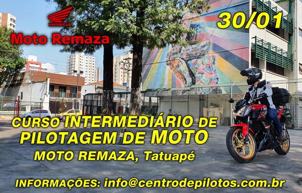 CURSO INTERMEDIÁRIO DE PILOTAGEM DE MOTO