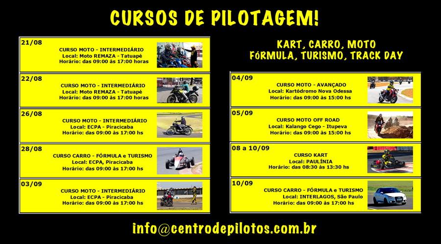 CURSOS DE PILOTAGEM
