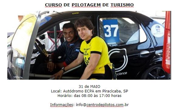 CURSO DE PILOTAGEM DE CARROS TURISMO!