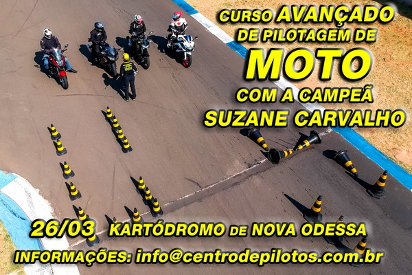 CURSO DE PILOTAGEM DE MOTO