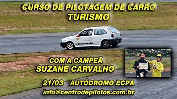 CURSO DE PILOTAGEM DE CARRO TURISMO