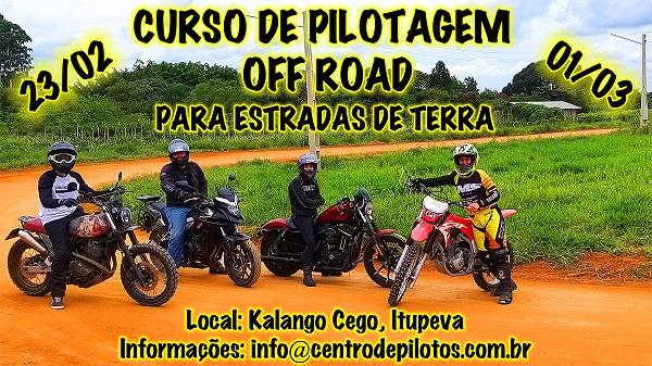 CURSO DE PILOTAGEM OFF ROAD