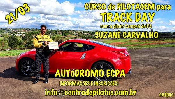 CURSO DE PILOTAGEM PARA TRACK DAY